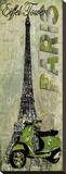Tour Eiffel Tableau sur toile par Karen J. Williams