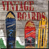 Vintage Snow Boards
