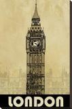 Londres Tableau sur toile par Kay Daichi