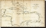 Map of the West Indies  c1794