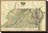 Virginia  Maryland and Delaware  c1823