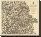 Civil War Military Operations of the Atlanta Campaign  c1874