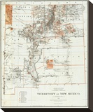 Territory of New Mexico  c1879