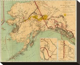 The Gold and Coal Fields of Alaska  c1898