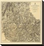 Civil War Military Operations of the Atlanta Campaign  c1877