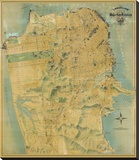 The Chevalier Map of San Francisco  c1911
