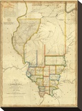 Map of Illinois  c1820