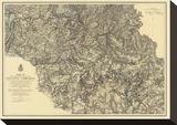 Civil War Military Operations of the Atlanta Campaign  c1876