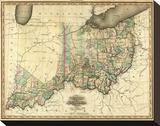Ohio and Indiana  c1823