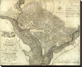 Plan of the City of Washington  c1795