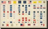 Civil War: Flags  Badges  c1895