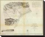 Santa Barbara  California  c1853