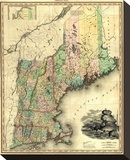 Maine  New Hampshire  Vermont  Massachusetts  Connecticut and Rhode Island  c1823