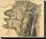 Civil War Map: Antietam  c1869