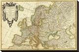 L'Europe  c1782