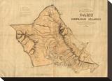 Oahu  Hawaiian Islands  c1881