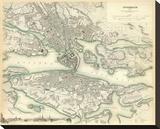 Stockholm  Sweden  c1838