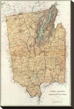 New York: Warren  Saratoga  Washington Counties  c1895