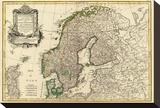 Suede  Danemarck et Norwege  c1762