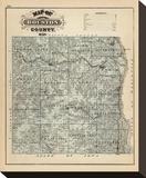 Map of Houston County  Minnesota  c1874