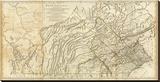 Map of Pennsylvania  c1776