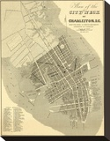 Charleston  South Carolina  c1844