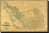The County of Alameda California  c1857