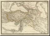Asie-Mineure  Armenie  Syrie  Mesopotamie  Caucase  c1822