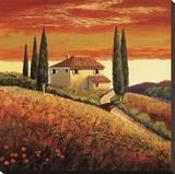 Sunset Over Tuscany II