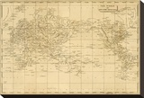 World Mercator&#39;s Projection  c1812