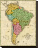 Map of South America  c1826