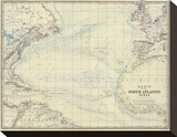 North Atlantic Ocean  c1861