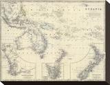 Oceania  c1861