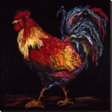 Red and Gold Rooster