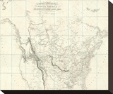 New Discoveries in the Interior Parts of North America  c1814
