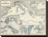 Mediterranean Basin  c1861