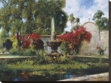 Fountain At San Juan Capistrano