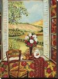Cabbage Rose Wallpaper