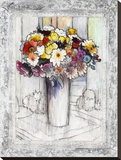 Bordered Bouquet I
