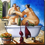 Couple Bathing
