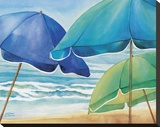 Seaside Umbrellas
