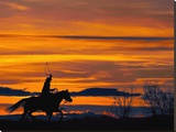 Ropin&#39; at Sunset