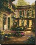 Spring Courtyard II