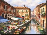 Flower Market on the Canal