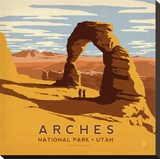Arches National Park  Utah Square