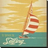 I'd Rather Be Sailing Square