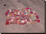 Moroccan Carpets Dry in Sun