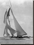 The Schooner Half Moon at Sail  1910s