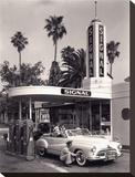 American Gas Station  1950