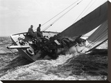 Yacht in Race  1937